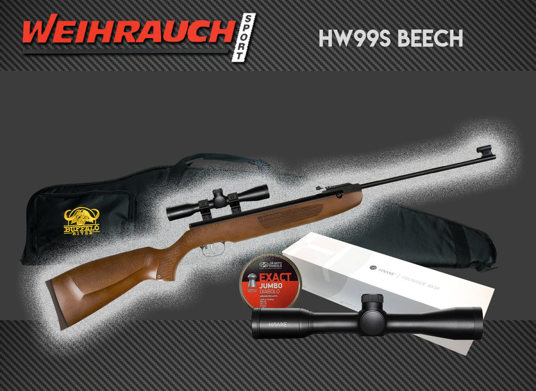 Weihrauch HW99s Package Deal