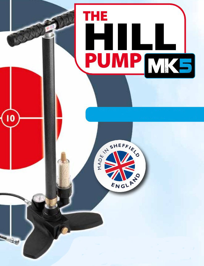 Hills MK5 + Dry-Pac 300 BAR PCP Stirrup Pump