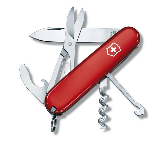 Victorinox Swiss Army Compact Multi Tool - Red