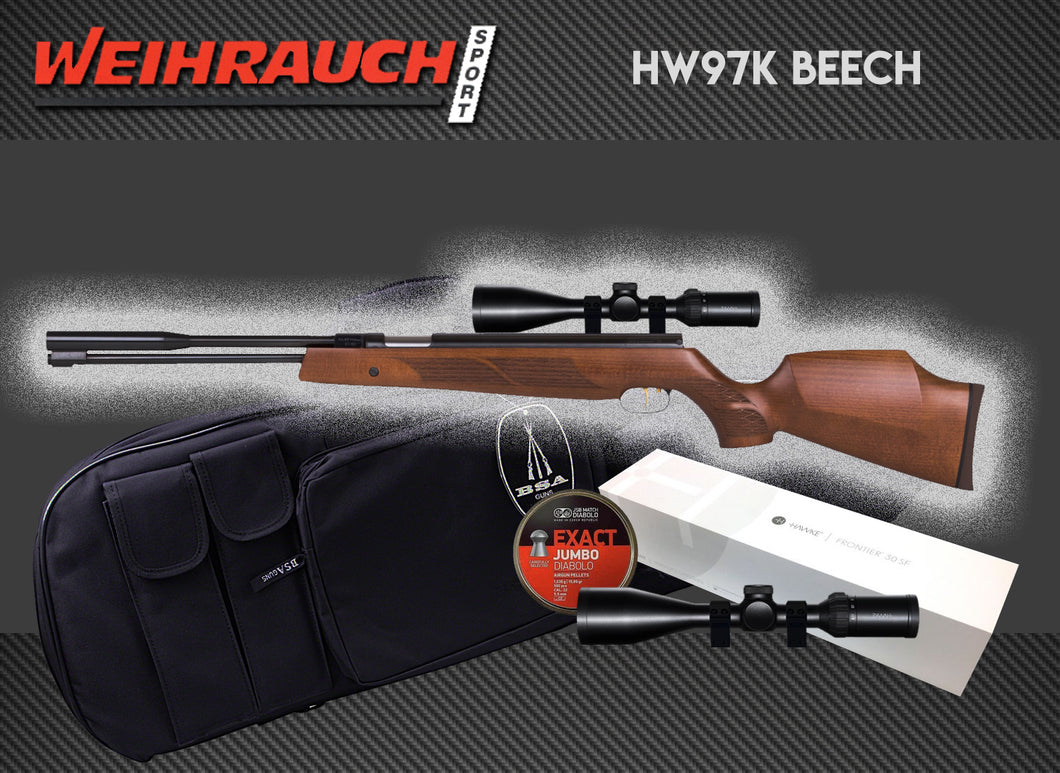 Weihrauch HW97K Beech Package Deal
