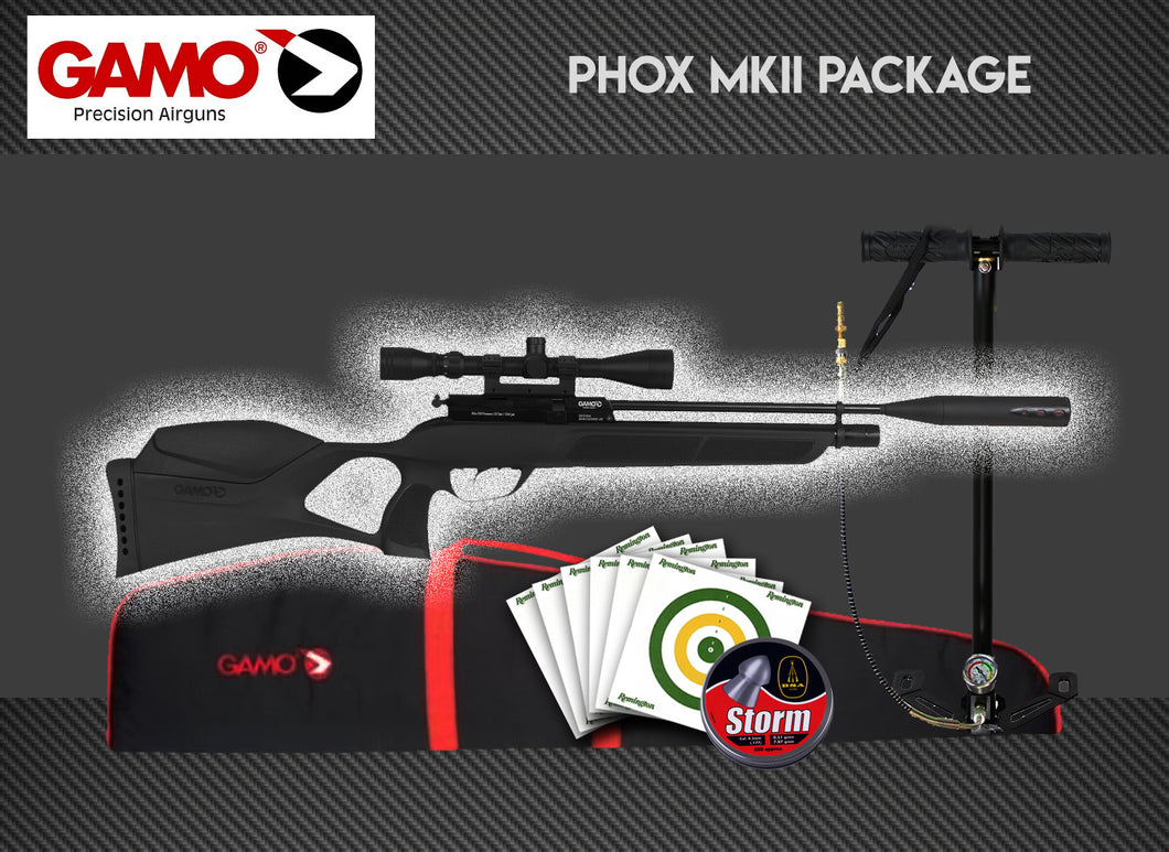 GAMO Phox MKII Package Deal Including Stirrup Pump