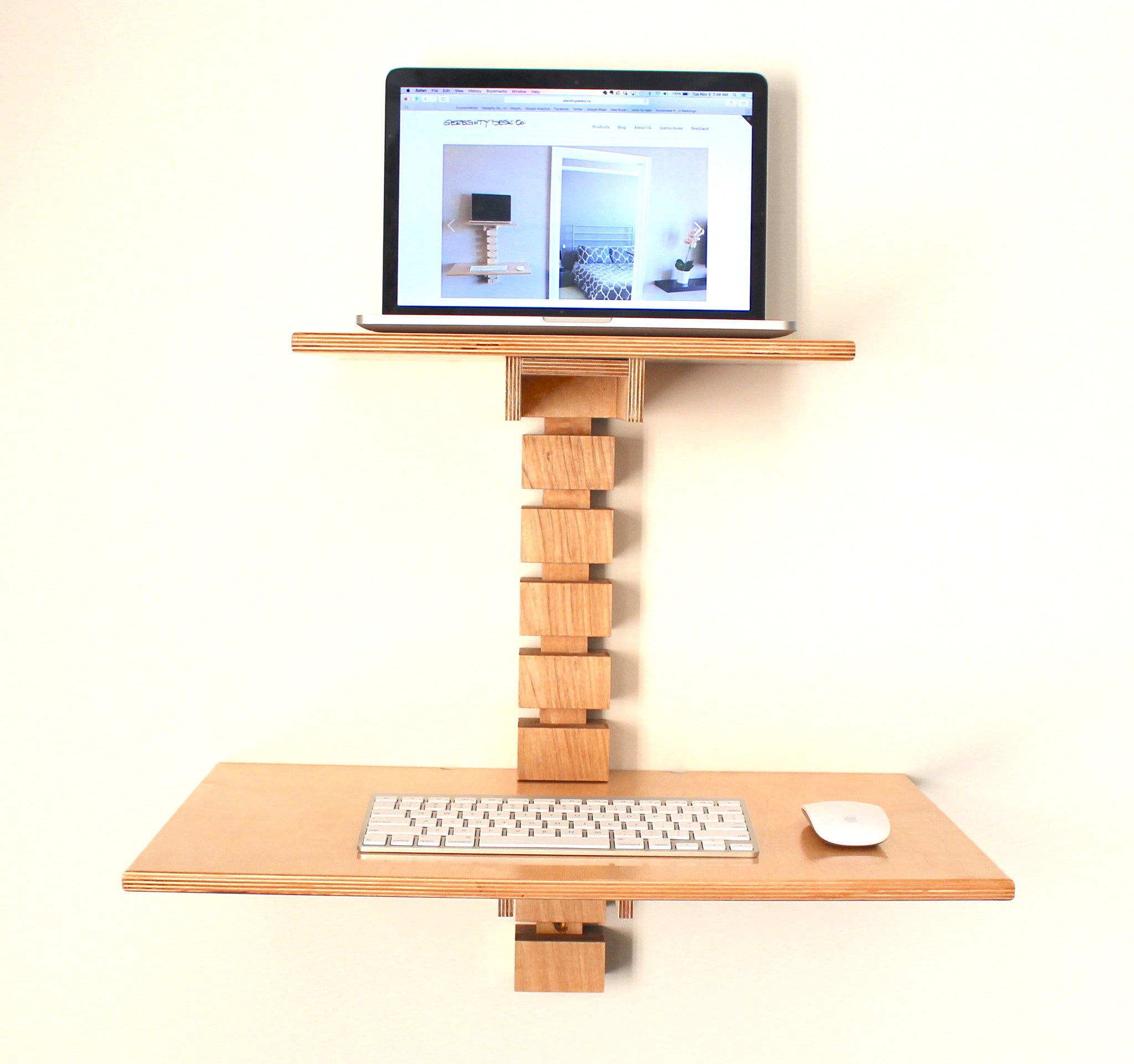 Wall Mounted Standing Desk Gereghty Desk Co