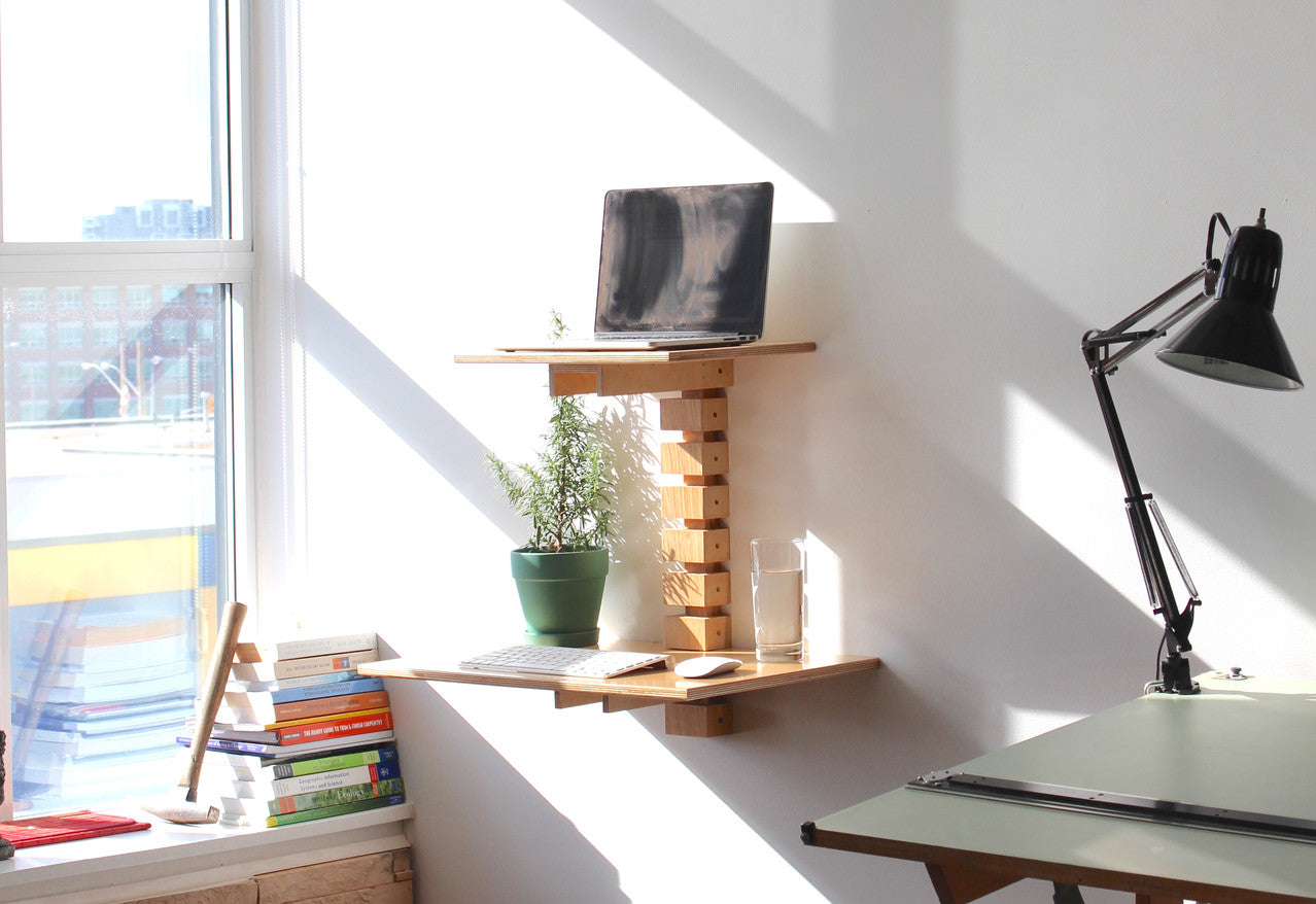 Wall-Mounted Standing Desk -Loft - Kitchener