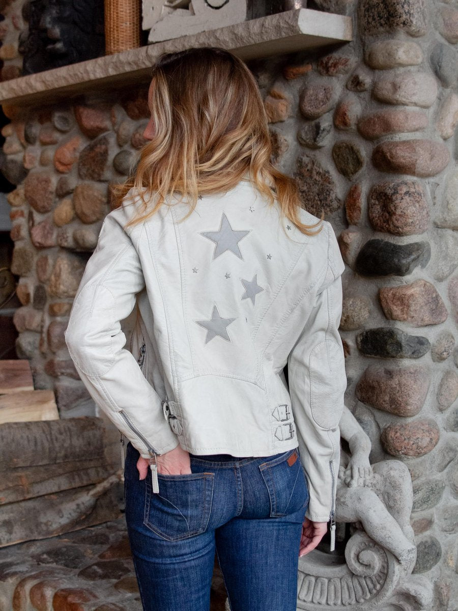 Seera RF Stars Jacket Off White