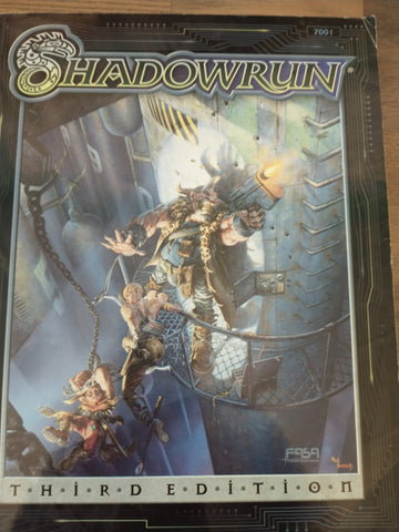 Shadowrun Second Edition Role Playing Game