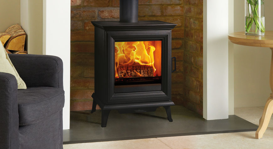 Stovax Sheraton 5 Multi-fuel and Woodburning Stoves - Interstyle