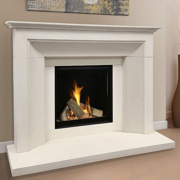 The Collection By Michael Miller Asencio Gas Fireplace Suite