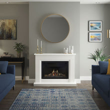 "Load image into Gallery viewer, Elgin & Hall 48"" Earlston Marble Gas Fireplace Suite"