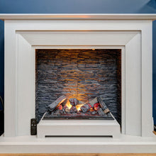 "Load image into Gallery viewer, Katell 48"" Napoli Italia Opti-Myst Electric Fireplace Suite"