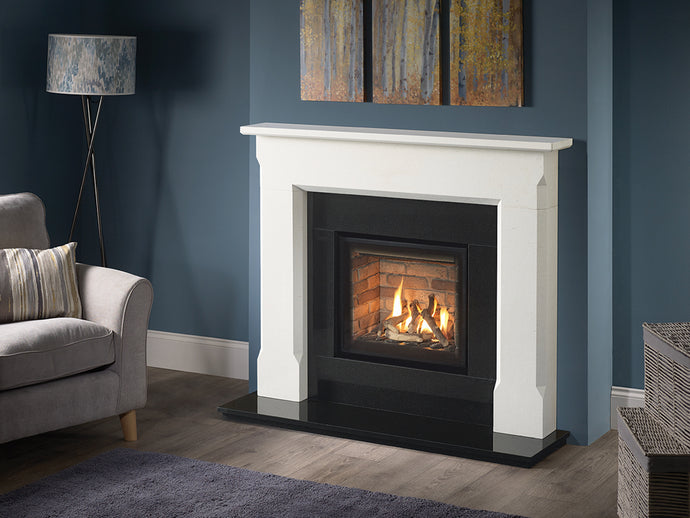 Capital Lingwood Aegean Limestone Mantel - Interstyle