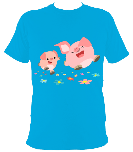 Happy Little Pigs!