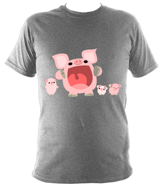 Piggies' Shouting Contest