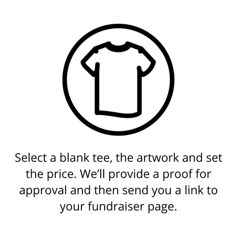 Select a blank tee icon