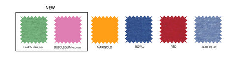 New Colors Swatch