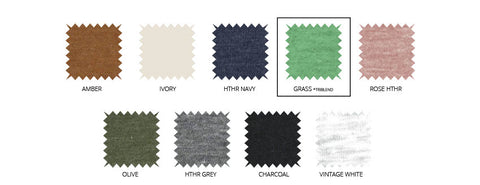 Key neutral colors swatch