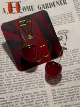 Load and play video in Gallery viewer, Cherry Jubilee Earrings!