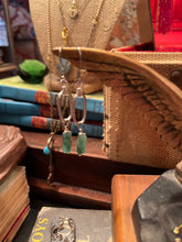 Load image into Gallery viewer, Jade Green Agate Earrings