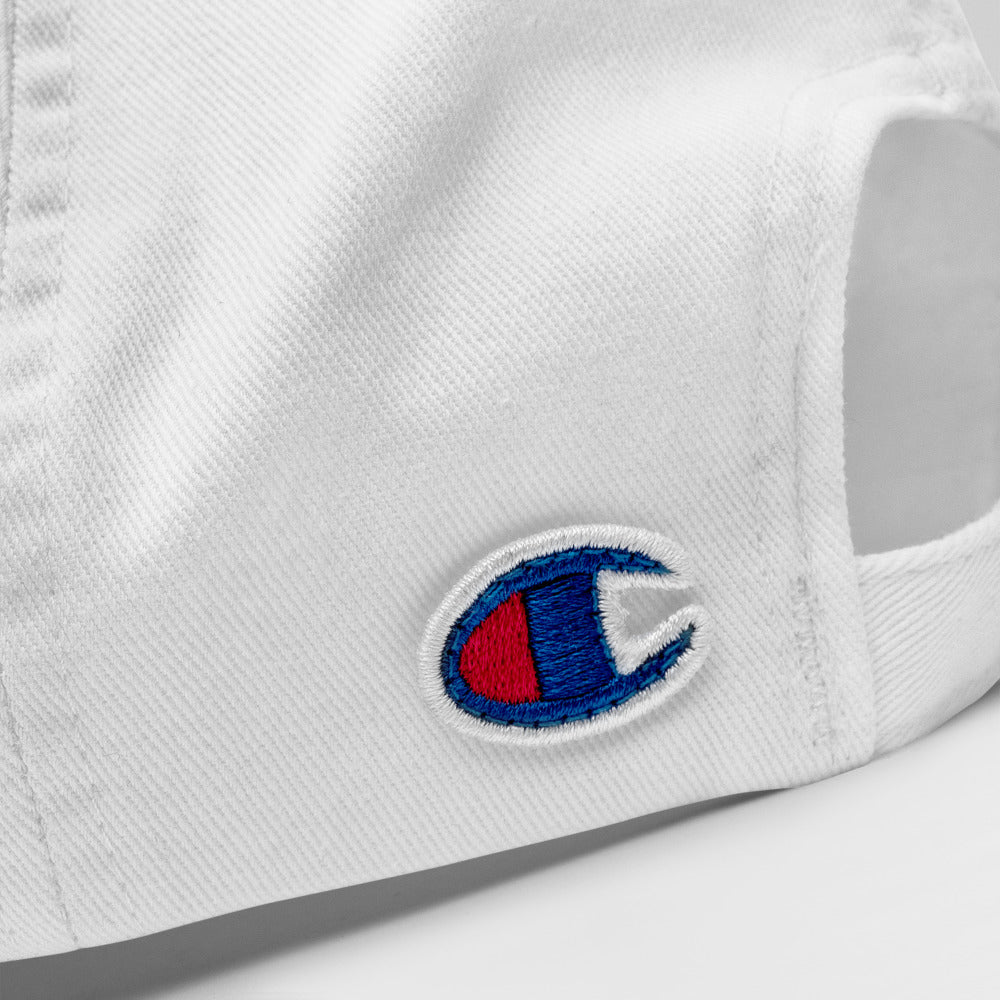 Inspire by Champion White Baseball Cap