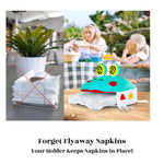 Load image into Gallery viewer, Forget Flyaway Napkins Your Holder Keeps Napkins in Place!