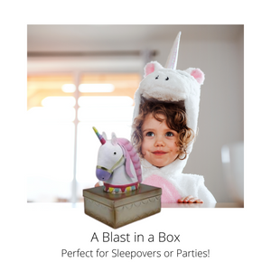 Here to Hold – Think outside the unicorn girls jewelry box At 5.7x4.7x7.9 in., your boys and girls and toddler jewelry box guards many small treasures from necklaces to rings and collectibles to trinkets—just like magic!