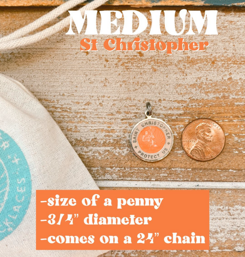 St. Christopher Medium Necklace