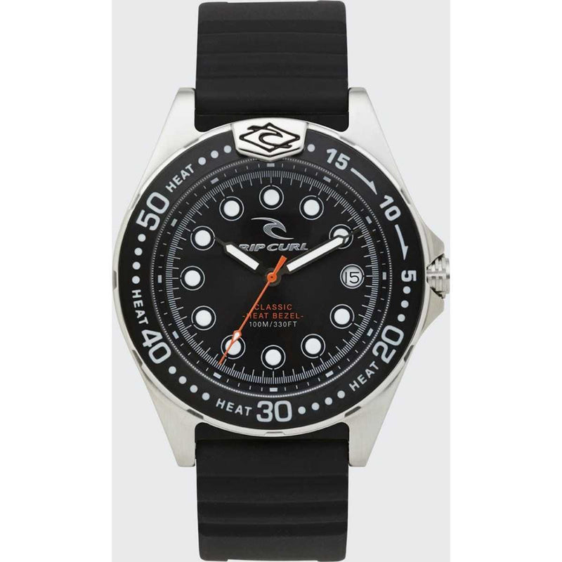 Classic Heat Bezel Watch in Black