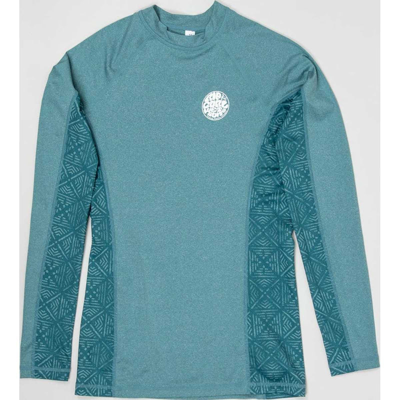 Trestles Long Sleeve Rash Guard in Red