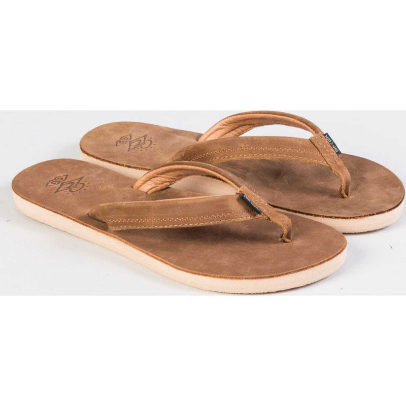 Crystal Cove Sandals in Tobacco Brown