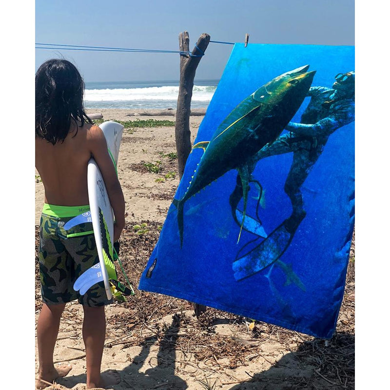 Fish 101 X Leus Surf Towel