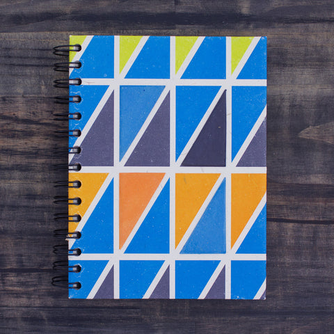 Large Notebook Mave Triangle