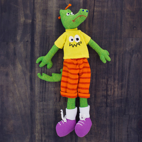 Doll Alex the Alligator