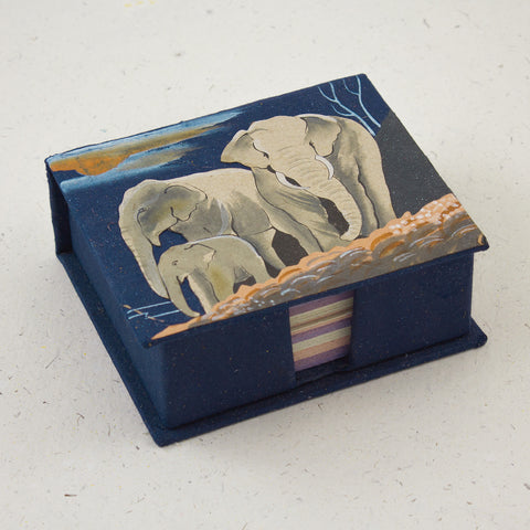 Note Box Dark Blue