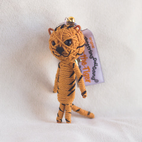 String Doll Keychain Titus the Tiger
