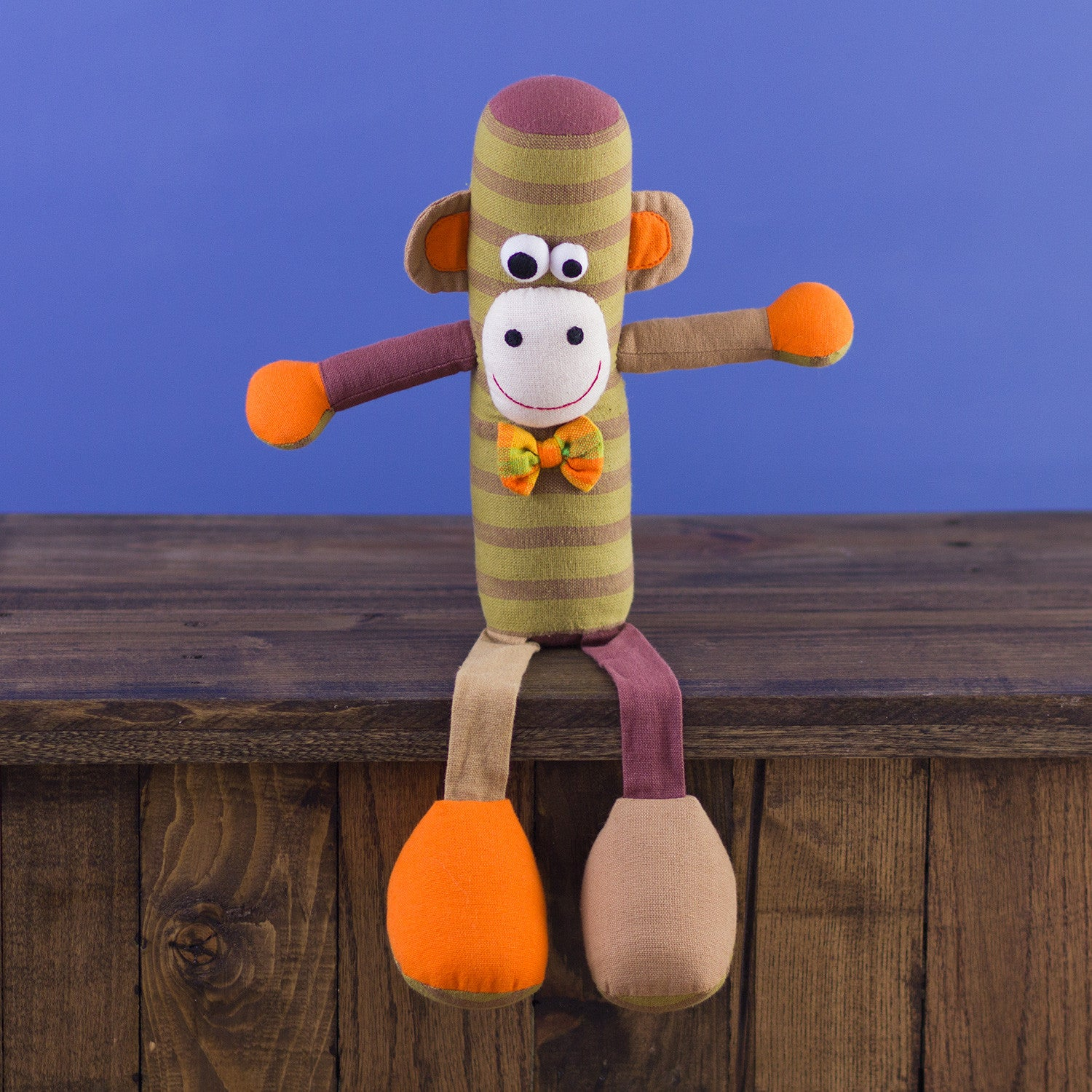 Tube-Shaped Doll Monkey