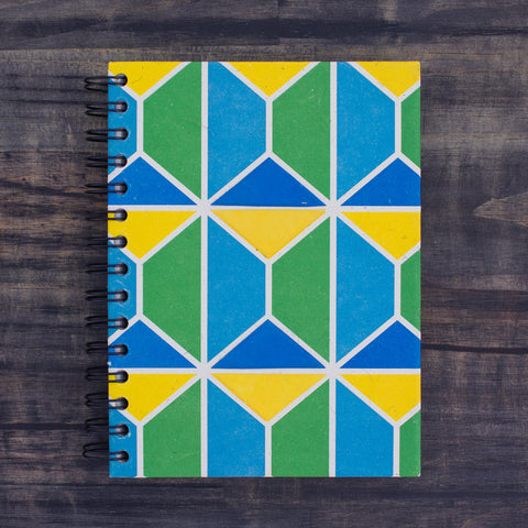 Large Notebook Mave Hexagon