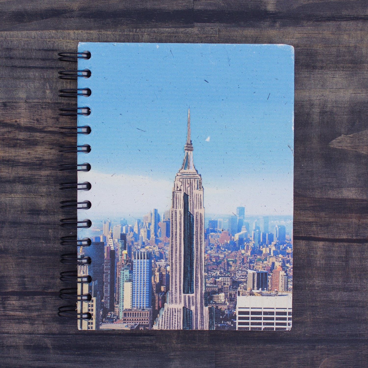 Large Notebook Empire State Building Daytime Embellished Print