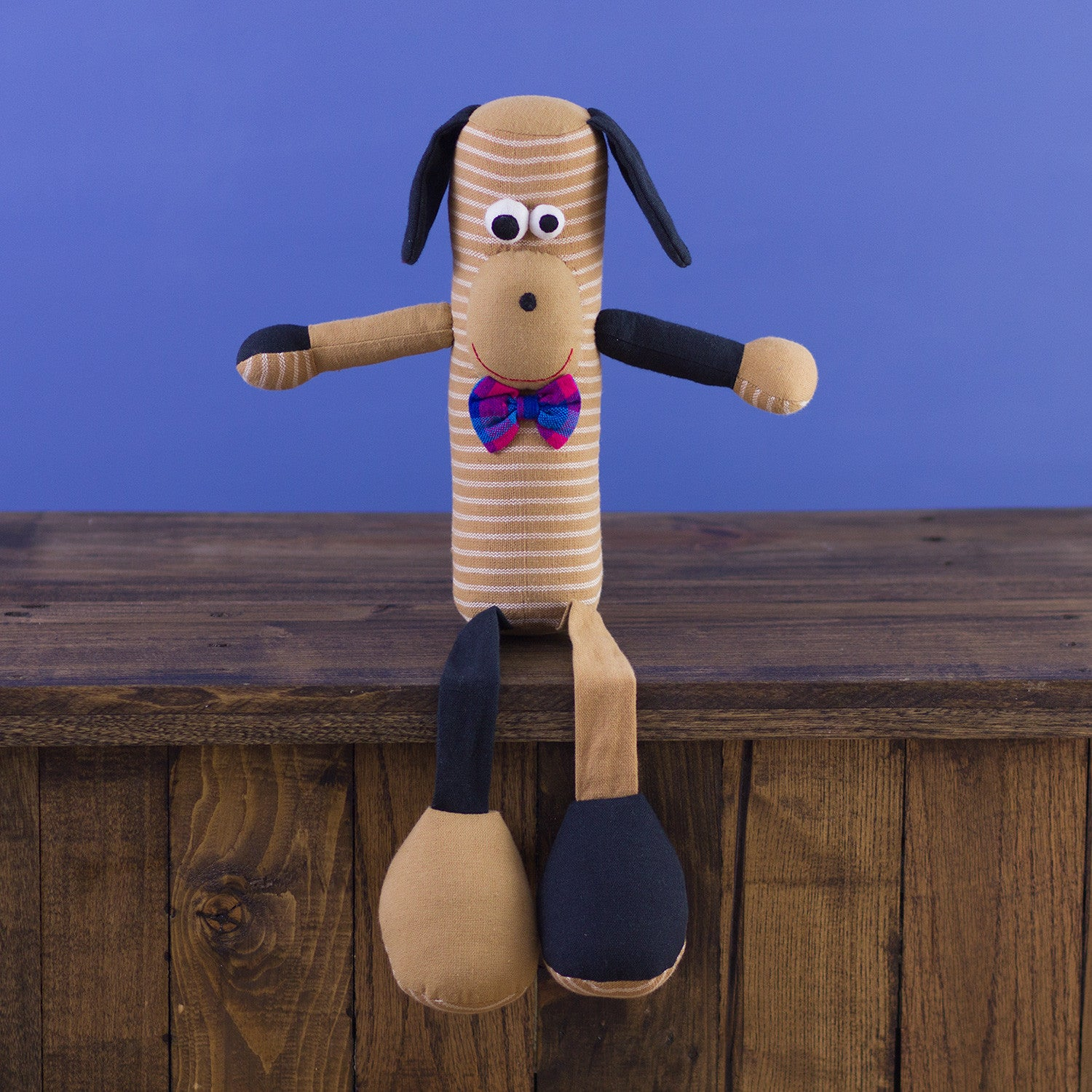 Tube-Shaped Doll Dog