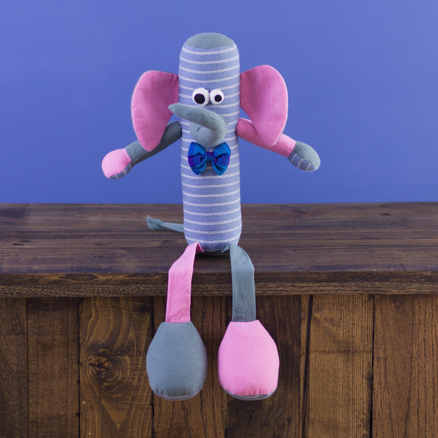 Tube-Shaped Doll Elephant