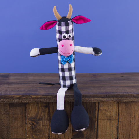 Tube-Shaped Doll Cow