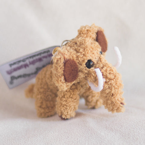 String Doll Keychain Moe the Woolly Mammoth
