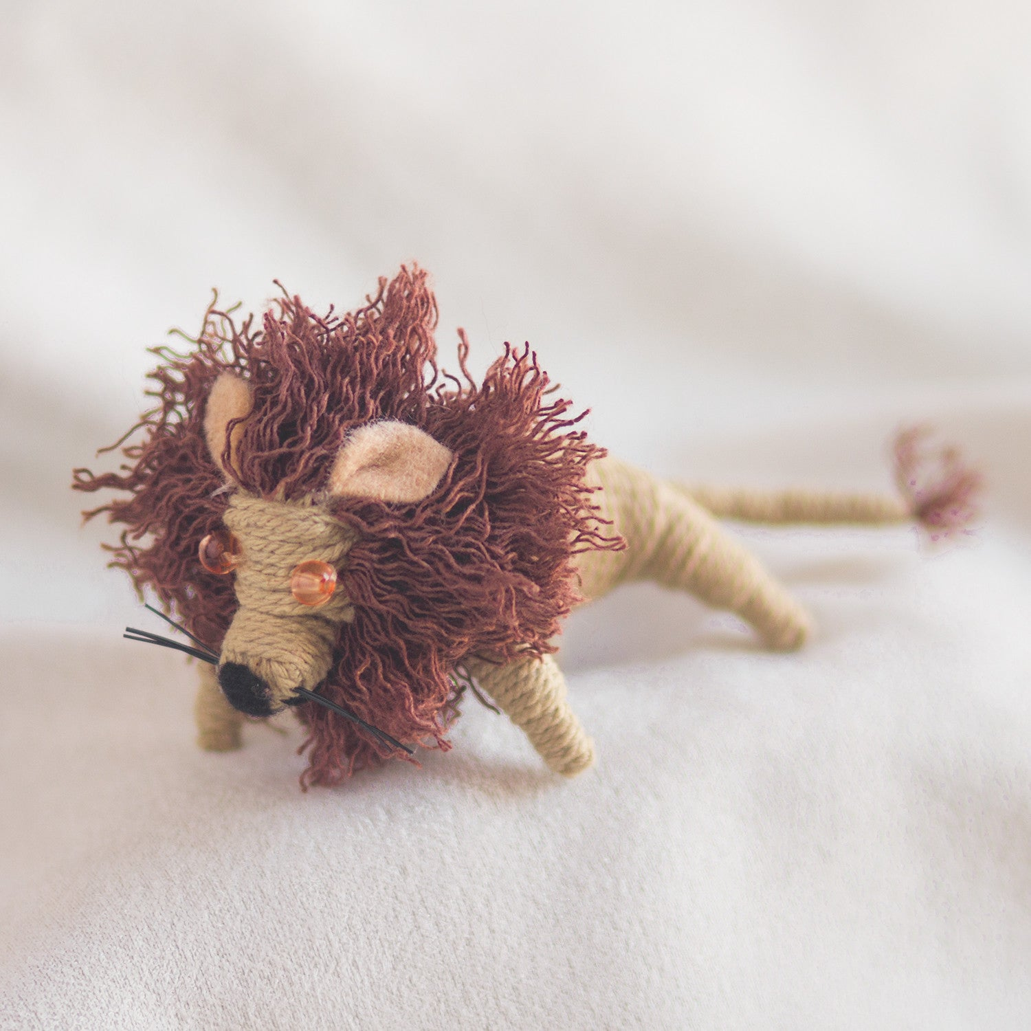 String Doll Keychain Leon the Lion