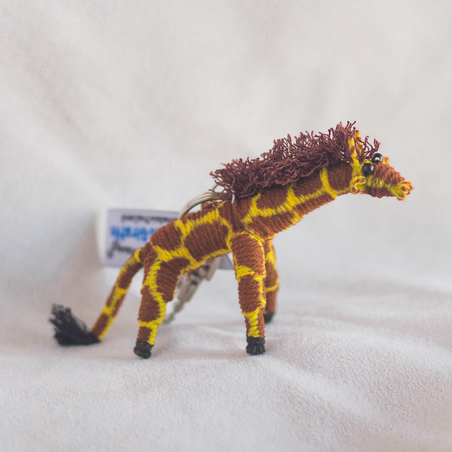 String Doll Keychain Ginger the Giraffe