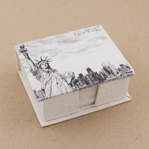 Note Box Statue of Liberty Sketch