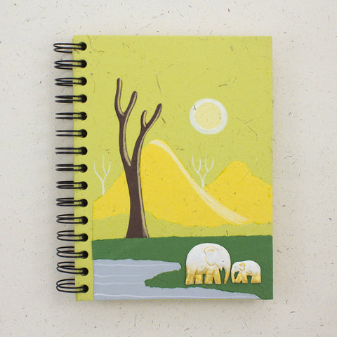 Large Notebook Light Green