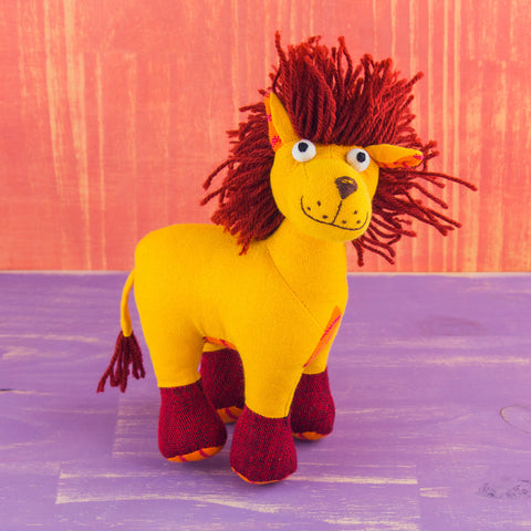 Fabric Plush Lion