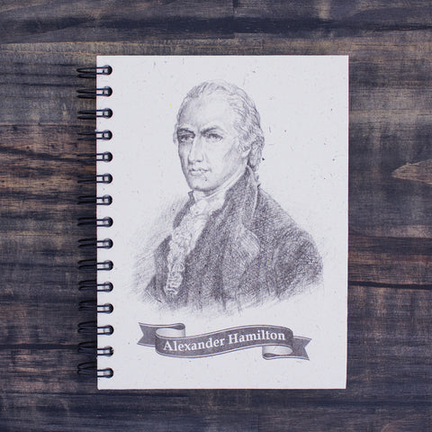 Large Notebook Alexander Hamilton Sketch