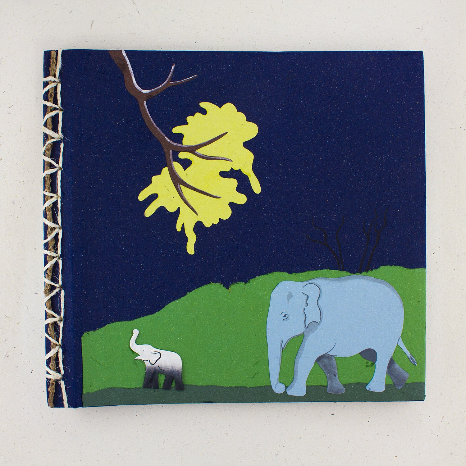 Large Photo Album/Scrapbook Dark Blue