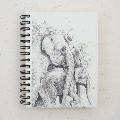 Large Notebook Family Profile Sketch