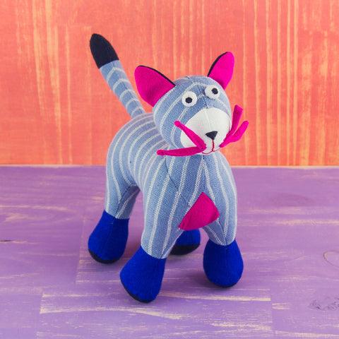 Fabric Plush Cat