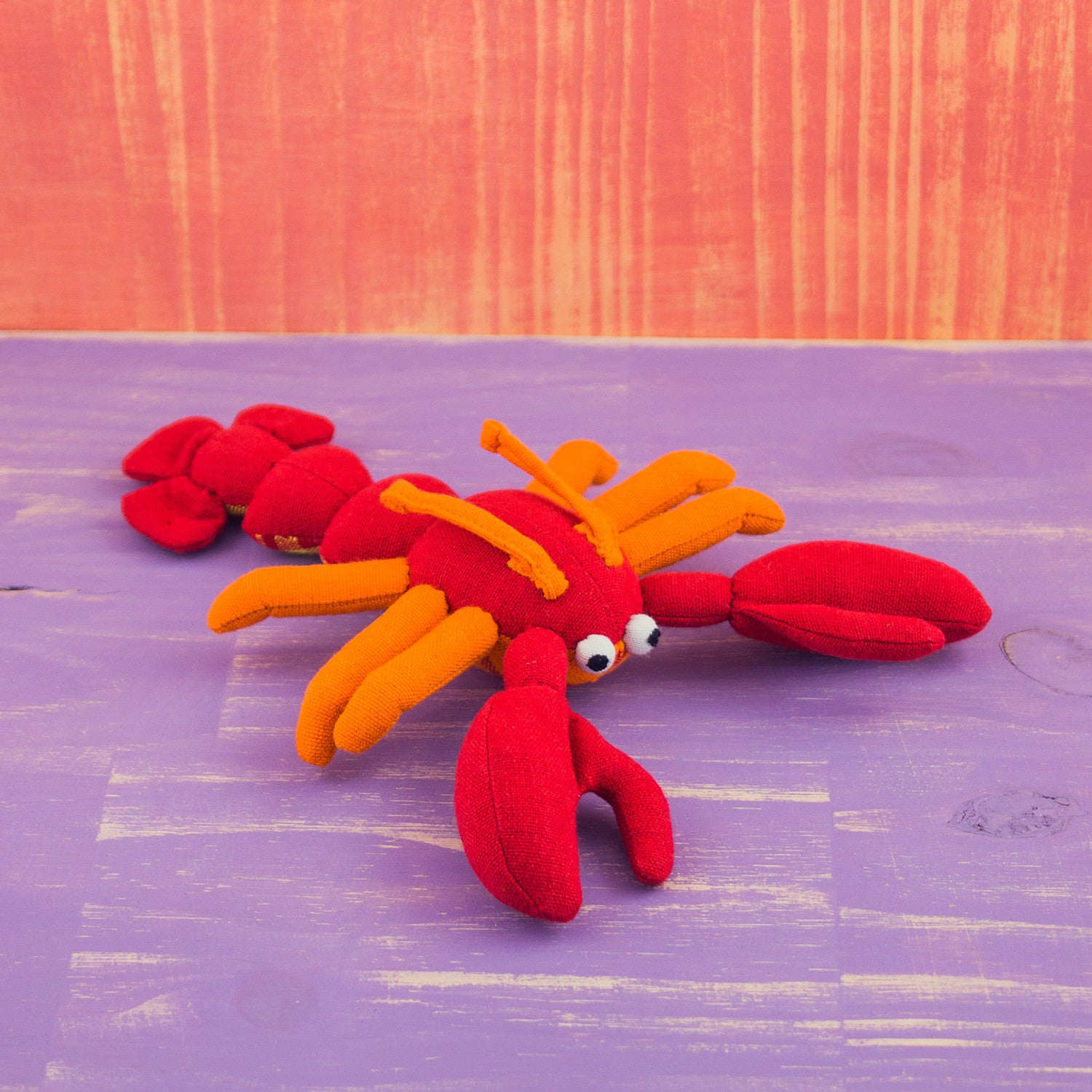 Fabric Plush Lobster